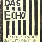1962 | Echo Nr. 01 – Schülerzeitung des Staatlichen Aufbaugymnasiums