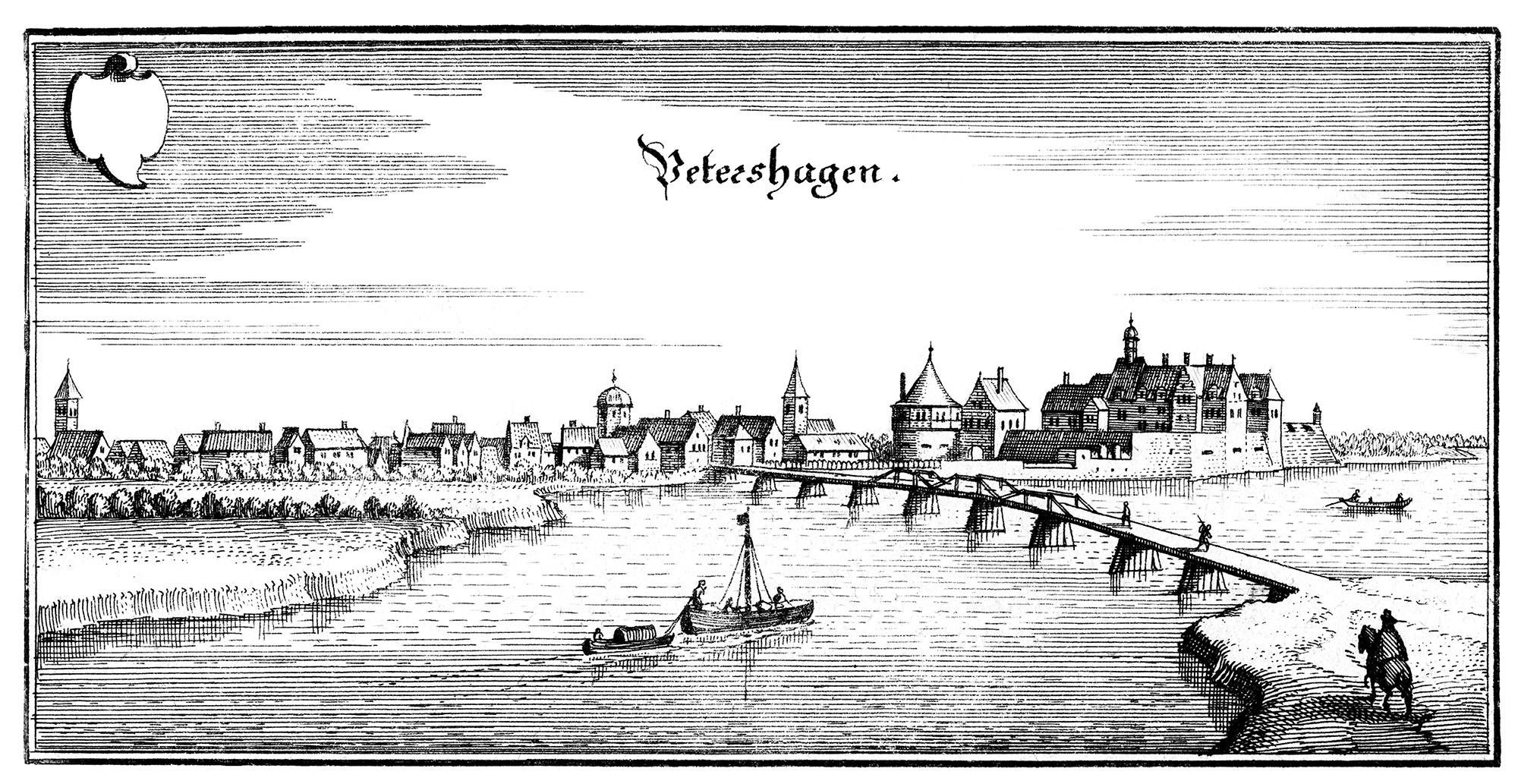 1647 | Matthäus Merian – Petershagen