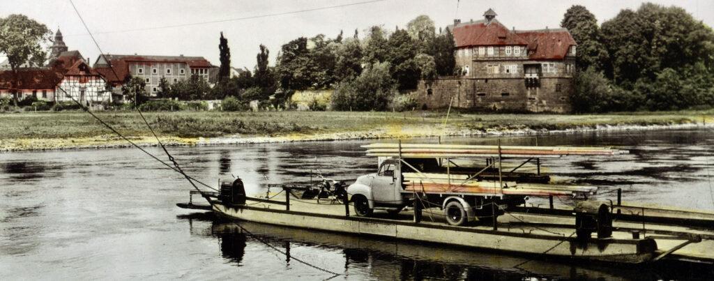 Unfall der Fähre 1910