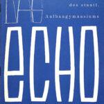 1963 | Echo Nr. 03 – Schülerzeitung des Staatlichen Aufbaugymnasiums