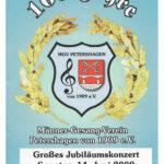 2009 | 100 Jahre Männer-Gesang-Verein Petershagen 1909